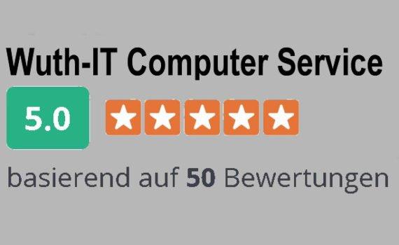 Top Bewertet auf Google & Co - Wuth-IT